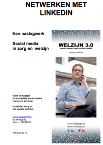 Cover ebook netwerken met Linkedin