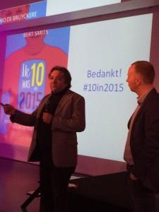 Remco Pijpers en Pedro de Bruyckere op Jaarcongres ECP 2015
