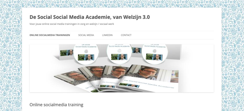 online training welzijn 3.0